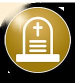 Funerali con rito religioso e con rito civile