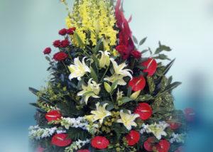 Obelisco Cordioli - Composizioni floreali: Cesti e Ciotole Codice ART-136157