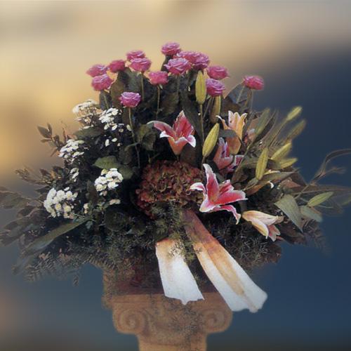 Obelisco Cordioli - Composizioni floreali: Cesti e Ciotole Codice ART-U162