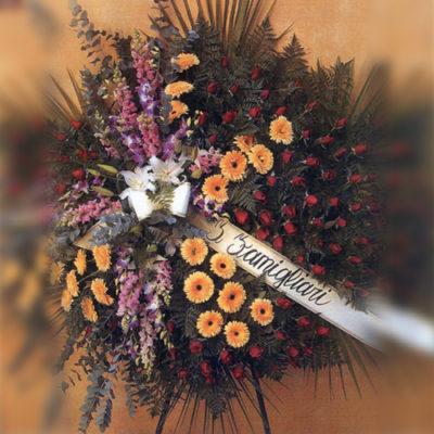 Obelisco Cordioli - Composizioni floreali: CORONA Codice ART-Q170