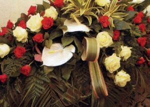 Obelisco Cordioli Composizioni floreali cuscino copricassa Art. 119