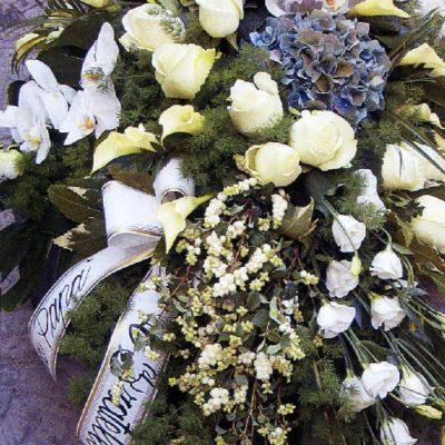 Obelisco Cordioli Composizioni floreali cuscino copricassa Art. 124