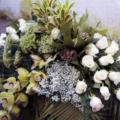 Obelisco Cordioli Composizioni floreali cuscino copricassa Art. 125